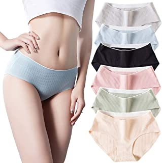Faraphil Womens Underwear Cotton Lingerie for Female Panty and Briefs Ladies Seamless Undies