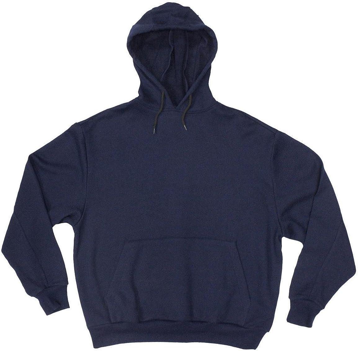 Big and Tall Beefy Hoodie Hooded Sweatshirts Made in USA