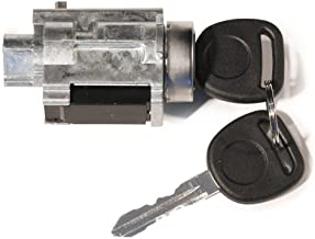 Ignition Lock Cylinder with Keys and Passlock Chip Starter - Replaces D1493F, 12458191, 25832354, 924-719 - Compatible wit...