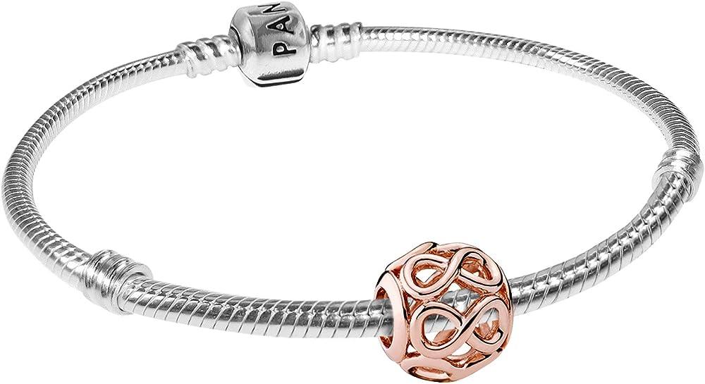 Pandora, bracciale starter da donna con simbolo dell'infinito in argento stearling 925 08324