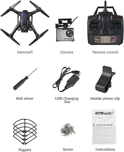 bajo precio Laurelmartina X183S RC Drone con 1080P 5G Cámara Cámara Cámara Modo sin Cabeza Altitud Mantener una tecla Volver Mini Control Remoto GPS Quadrocopter  ventas directas de fábrica