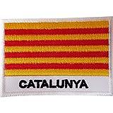 Parche para coser, diseño de la bandera de Cataluña, Aragón, Islas Baleares, Valencia, España