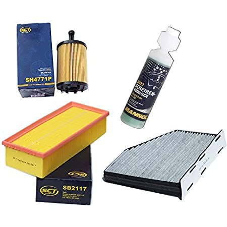 Inspektionspaket Filteristen Aktivkohlefilter Sct Luftfilter Ölfilter Geschenk Auto