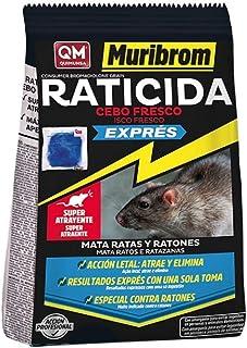 comprar comparacion Muribrom Quimunsa Raticida Cebo Fresco EXPRÉS 1kg Veneno Ratones, Ratas y roedores (Brodifacoum)