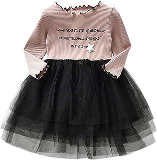 7bae5728790b8 Sunenjoy Tout-Petits Bébé Enfants Filles Chat Sequins Tutu Princesse Dot  Pull Robe à Manches