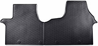 Cadeau + Nettoyant Plastique /à partir de 2014 Tapis en Caoutchouc Compatible avec Renault Trafic III Avant pour 3 passagers