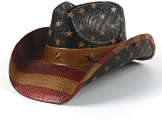 ad51a485daf Laminated Poster Stetson Felt Cowboy Hat Fedora Cowboy Hat Western Poster  Print 11 x 17 ·  9.99 9.99.  3.99 shipping. SSLA 4 Style National Flag Cowboy  Hat ...