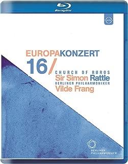 ヨーロッパコンサート 2016 イン・レーロース (Europa Konzert 16 ~ Church Of Roros / Sir Simon Rattle   Berliner Philharmoniker   Vilde Frang) [Blu-ray] [輸入盤] [日本語帯・解説付]