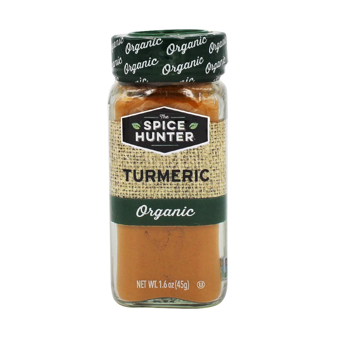 Rare The Spice Hunter Turmeric Jar Ground Our shop OFFers the best service 1.6-Ounce Organic