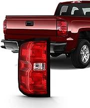 Fits 2016 2017 2018 2019 Chevy Silverado 1500 2500HD 3500HD | GMC Sierra 3500 HD Tail Light Brake Lamp Passenger Right