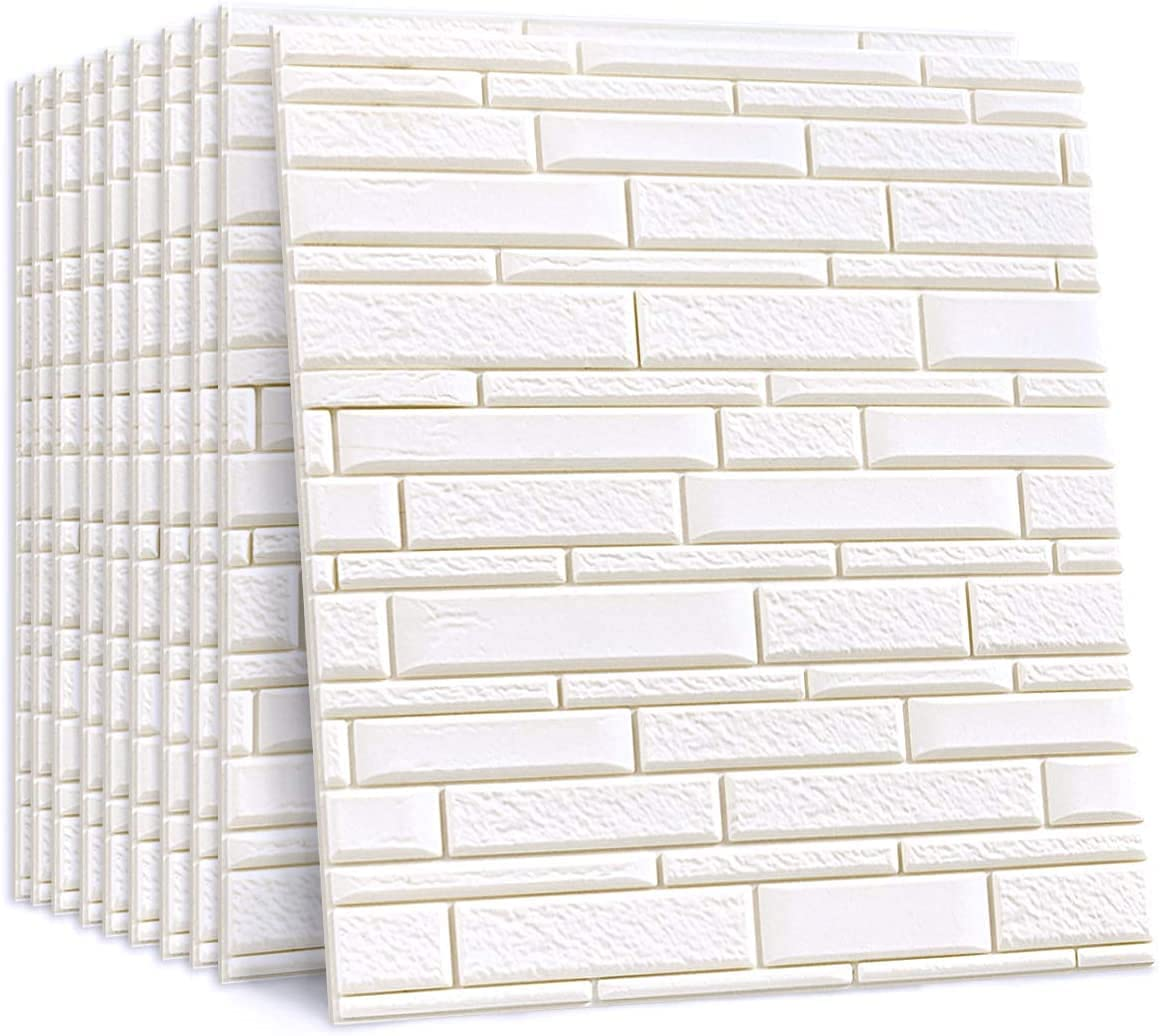 3D Wall Panels Year-end gift Self-Adhesive Sticker Brick Max 86% OFF Foam Waterproof