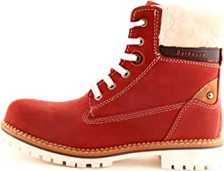 DarkWood Lace Up Boot For Women