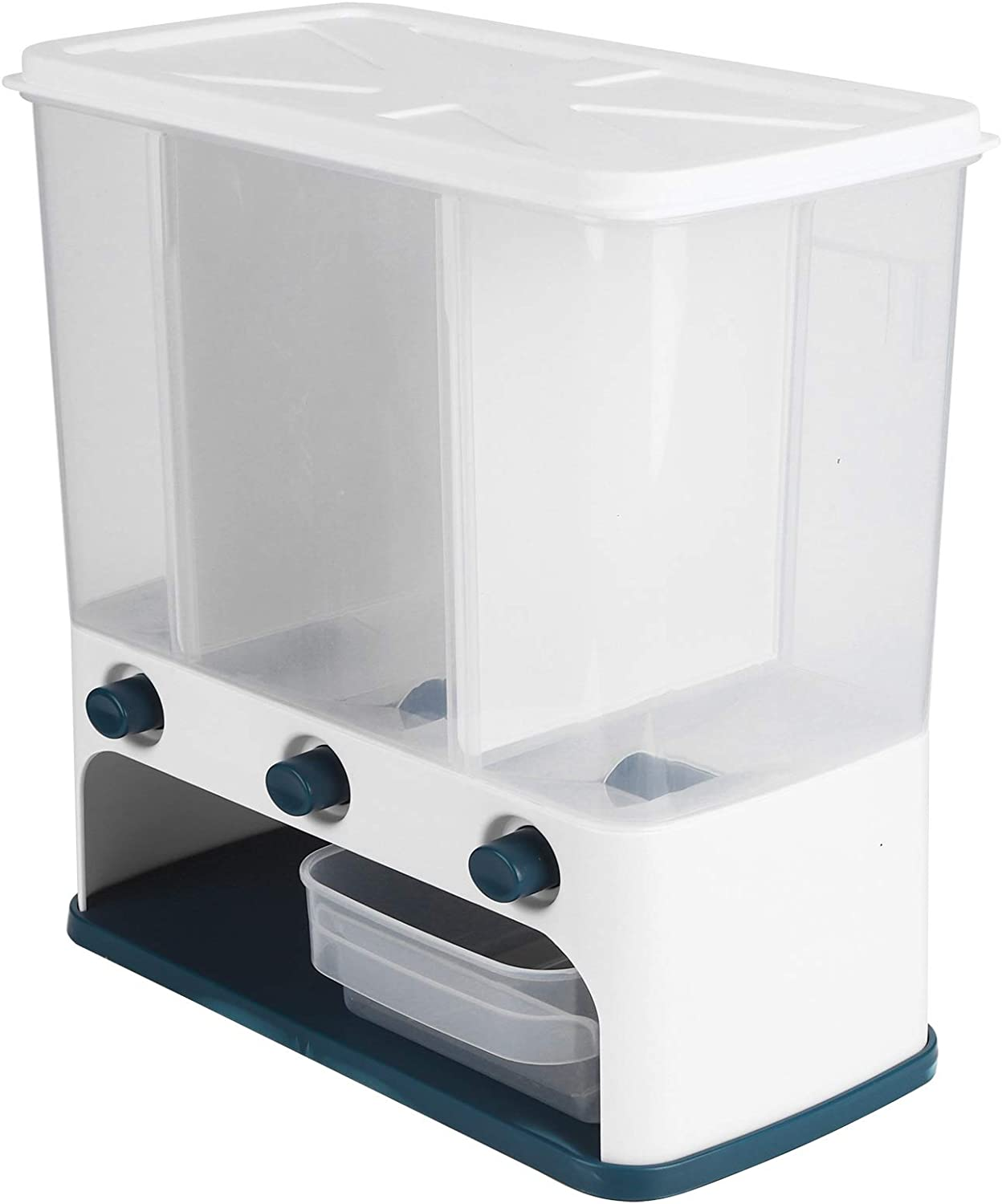 Wall Los Angeles Mall Cereal Ranking integrated 1st place Container Dispenser Dry Food Dr Lid