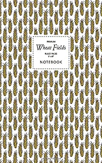 Wheat Fields Notebook - Ruled Pages - 5x8 - Premium: (Original Edition) Fun notebook 96 ruled/lined pages (5x8 inches / 12...