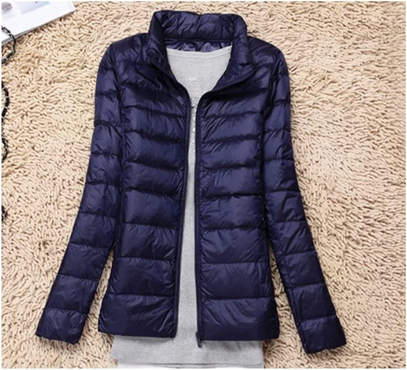 CHNOOI Women White Sales of SALE items from new works Duck All items free shipping Down Female Light Jacket Jac Autumn