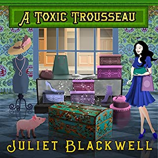 A Toxic Trousseau audiobook cover art