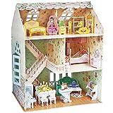 CubicFun Casa de muñecas de ensueño con muebles, 3D, rompecabezas, 160 piezas