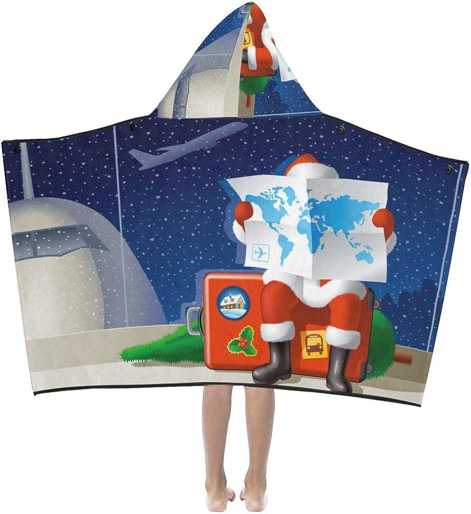 JIAJIA Throw Fresno Mall Now free shipping Blanket Small Retro Suitcase Kids Hooded Ba