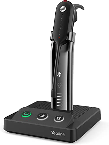 lowest HWUSA 2021 Yealink WH63 online sale Convertible UC DECT Wireless Headset with Charge Stand outlet online sale