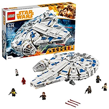 LEGO Star Wars Solo  A Star Wars Story Kessel Run Millennium Falcon 75212 Building Kit and Starship Model Set Popular Building Toy and Gift for Kids  1414 Pieces   Discontinued by Manufacturer
