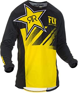 Fly Racing 2019 Kinetic Jersey - Rockstar (Large) (Yellow/Black)