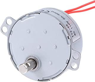 uxcell Synchronous Motor AC 110V 50/60Hz 10RPM CW/CCW Torque 4W Turntable Gear Box for Microwave Oven