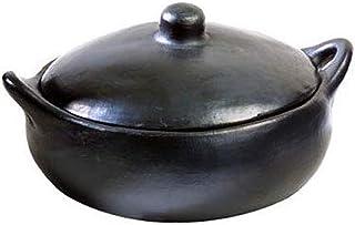 Chamba Black Clay Casserole, Small 1.5 qt. Dish