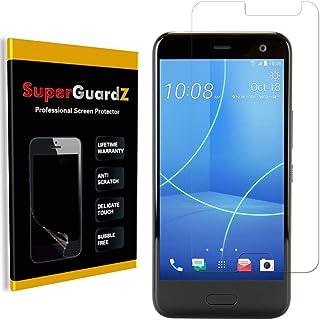 [8 عبوات] لحامي شاشة HTC U11 Life، SuperGuardZ، مضاد للتوهج، غير لامع، مضاد لبصمات الأصابع، مضاد للخدش، مضاد للفقاعات [است...