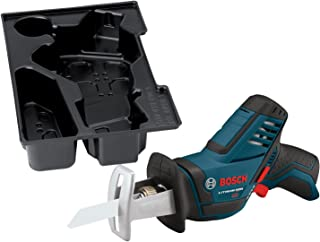 Bosch Bare-Tool PS60BN 12-Volt Max Lithium-Ion Pocket Reciprocating Saw  with Exact-Fit..
