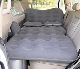 Car Air Mattress Camping Beds, Basenji Inflatable Thickened Car Mattress with Two Pillow and Electric Air Pump, Car Inflat...