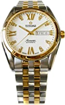 チトーニ TITONI 腕時計 93709 SY-385 エアマスター AIR MASTER メンズ 機械式自動巻 メタルベルト [並行輸入品]