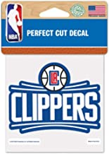 WinCraft Los Angeles Clippers 4x4 Die Cut Decal