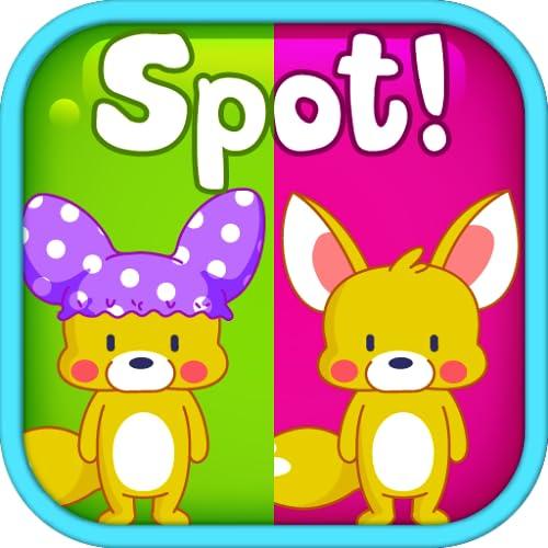 Spot It! Cute Animal Fun 2