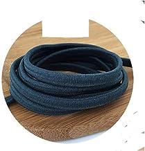 Xpwoz 5/10 / 20M 5mm Kleur Dik elastisch koord DIY Accessoires (Color : NO27, Size : 5M)