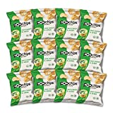 popchips Potato Chips, Sour Cream and Onion, 0.8 oz Bags (Pack of 12)