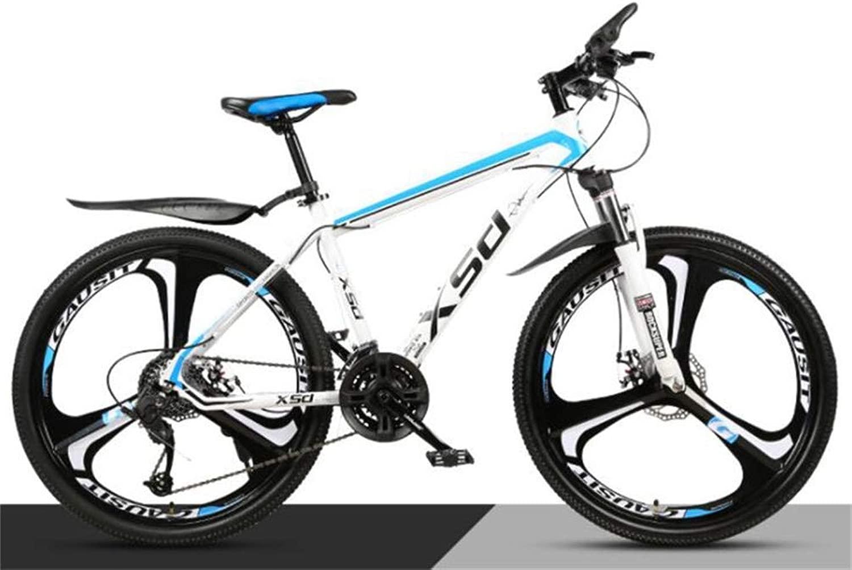 コミューター市ハードテイルバイクユニセックスマウンテン自転車、26インチの都市道路の自転車メンズMTB (Color : C, Size : 27 speed)