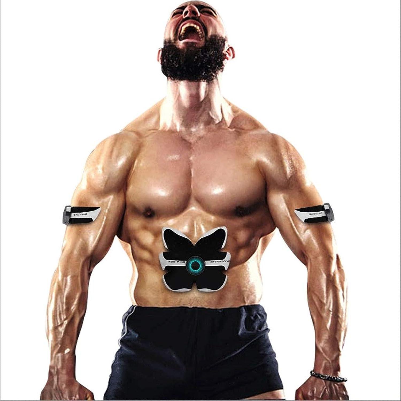 L-life Massagegürtel EMS Muskelstimulator, Abdominal Toning Gürtel für Bauch Arm Bein Trainingsgerte