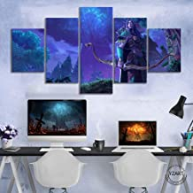 XHDFHS Warcraft 3 Reforged Video Game Poster Sylvanas Windrunner Wow Game Character Picture Wall Paintings for Living Room...