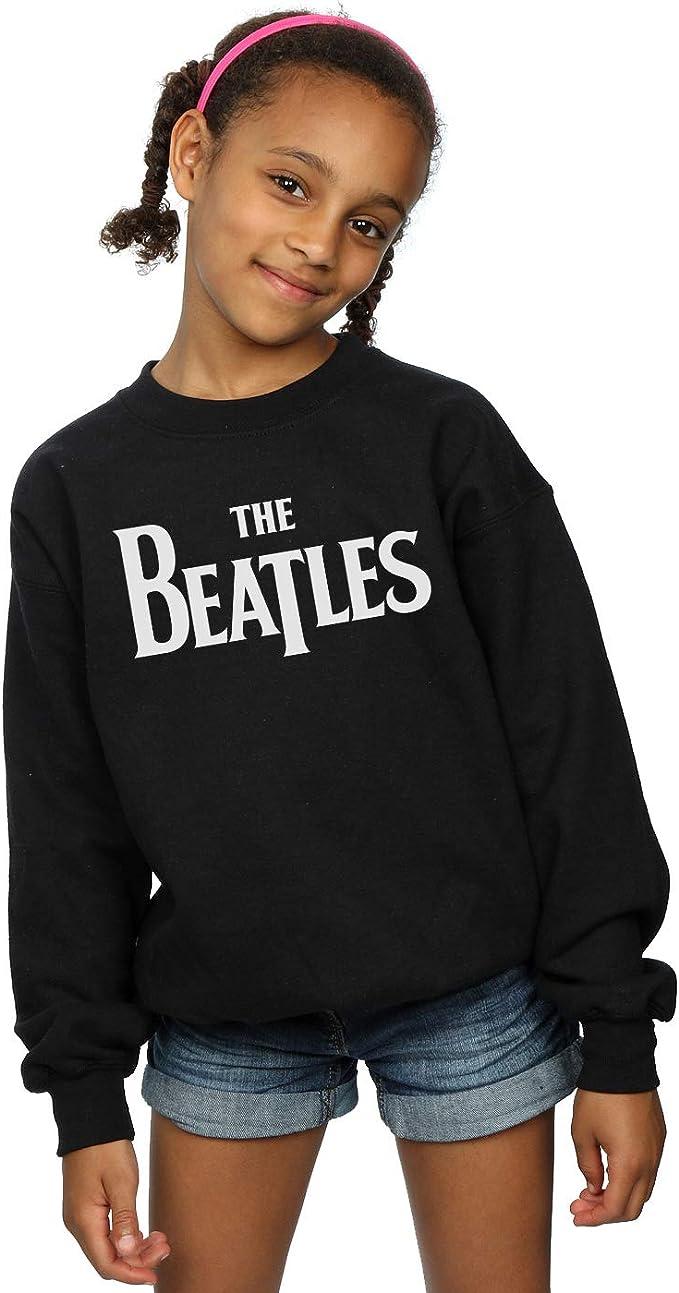 The Beatles Niñas Drop T Logo Camisa De Entrenamiento: Amazon ...