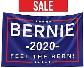 MaxCo Bernie Sanders 2020 Bernie 2020 Flag Bernie Lawn Sign Feel The Bern Bernie Sanders Yard Sign   Bernie Sanders Gift Bernie Gift   3' x 5'
