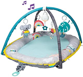 Taf Toys 4 in 1 Music & Light Thickly Padded Koala Musical Cozy Gym | Baby nest | Interactive Baby Mat. Baby's Activity & ...