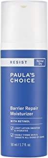 Paula's Choice RESIST Barrier Repair Moisturizer with Retinol, Squalane & Shea Butter, Cream for Anti-Aging & Wrinkles , D...