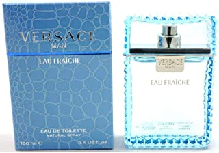 Eau Fraiche By Versace Eau de Toilette Spray 3.4 Fl Oz