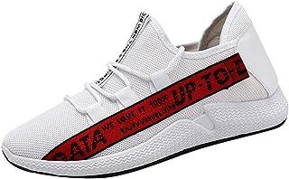 LYRICS Herren Sneaker Freizeitschuhe Sportschuhe Laufschuhe Gym Turnschuhe Atmungsaktiv Running Sneaker Low Top Schnürschu...
