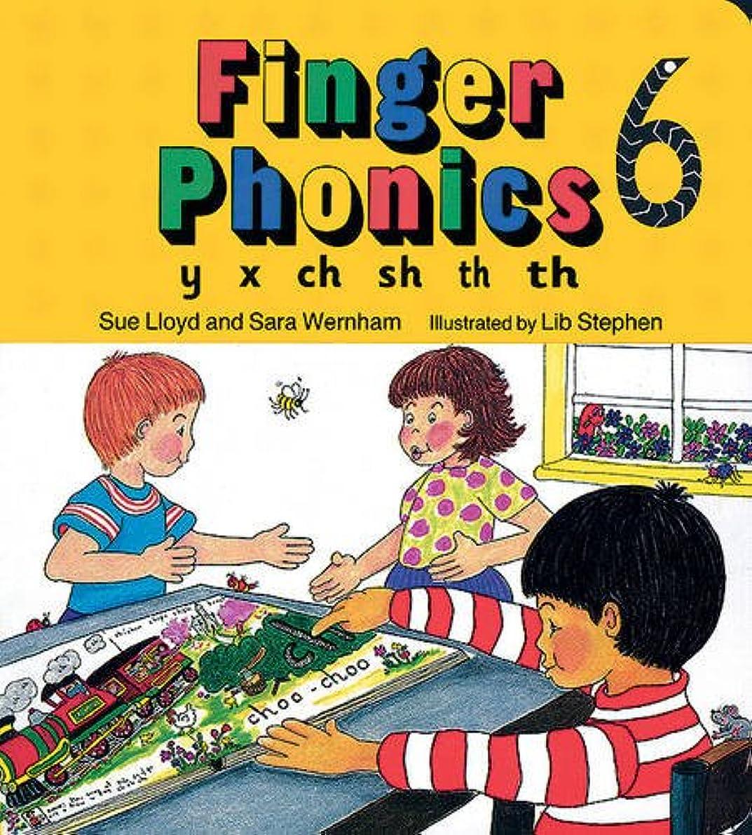 ひどくブラウズより平らなFinger Phonics Book 6: Y, X, Ch, Sh, Th/Board Book (Jolly Phonics: Finger Phonics)