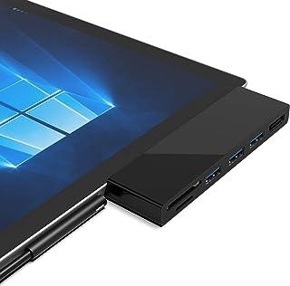 Cateck Surface Pro 4/5/6 USB 3.0 Hub Docking Station, Dual USB Card Reader, 3X USB 3.0 Ports (5Gps) + 4K HDMI + SD/TF(Micr...