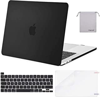 MOSISO Funda Dura Compatible con MacBook Pro 16 Pulgadas 2020 2019 con Touch Bar A2141, Delgado Plástico Carcasa Rígido&Cu...
