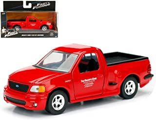 JADA 1:32 Metals Premium Diecast Truck - Fast & Furious - Brian's Ford F-150 SVT Lightning for Gift/Kids/Collection