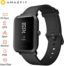 """Xiaomi Huami Amazfit Bip Smart Watch Reflection Color Screen 1.28"""" Baro IP68 Waterproof GPS for Android & iOS English Version"""