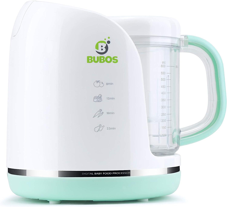 Bubos Smart 5-in-1 Over item handling Omaha Mall ☆ Baby Food and Steamer Maker Blender Chopper